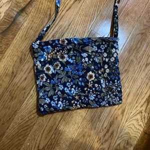 Gold Coast floral crossbody